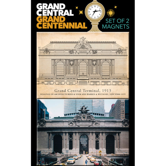 Grand Central Exterior Magnets (Set of 2)