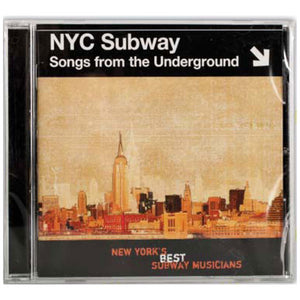 NYC Subway: Songs from the Underground CD