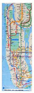 Subway Map - Long Magnet