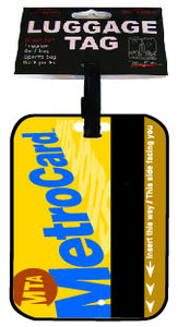 Metrocard Luggage Tag
