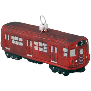 Redbird Train Ornament