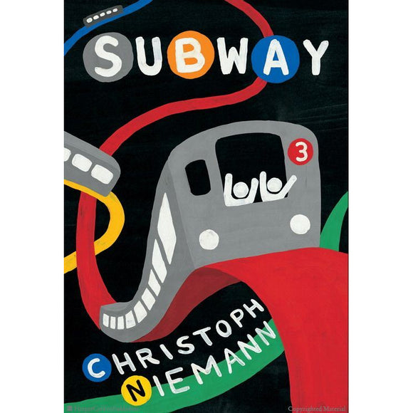 Subway Christoph Niemann Book