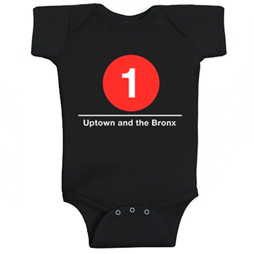 #1 (Uptown and the Bronx) Infant Bodysuit