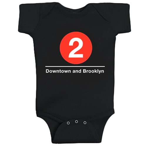 #2 (Downtown and Brooklyn) Infant Bodysuit