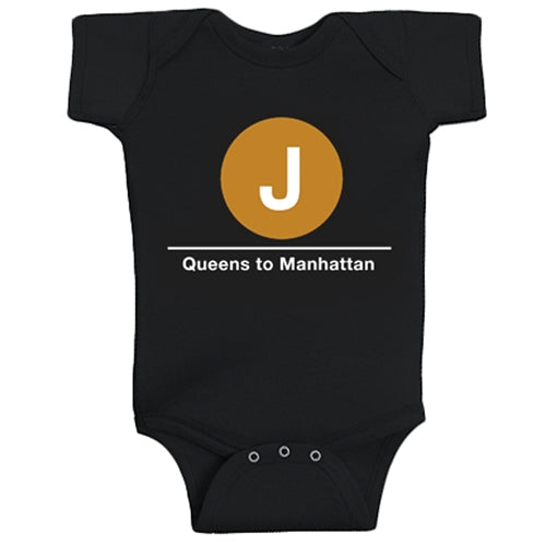 J (Queens to Manhattan) Infant Bodysuit