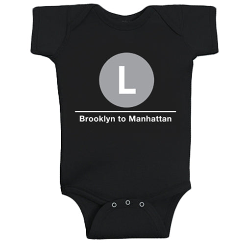 L (Brooklyn to Manhattan) Infant Bodysuit