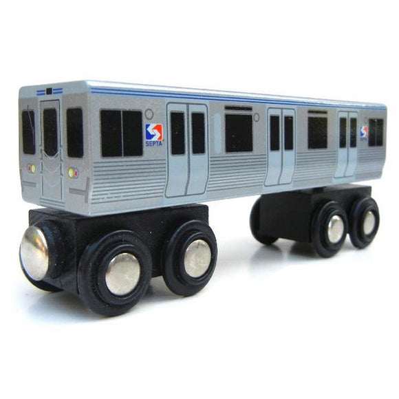 M4 Rapid Transit Car Wooden Train