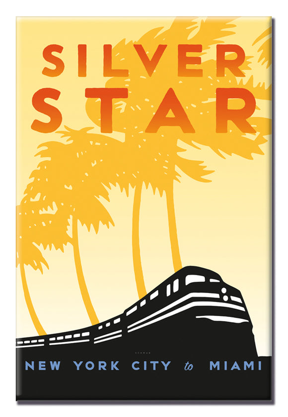 Silver Star (NYC to Miami) Magnet