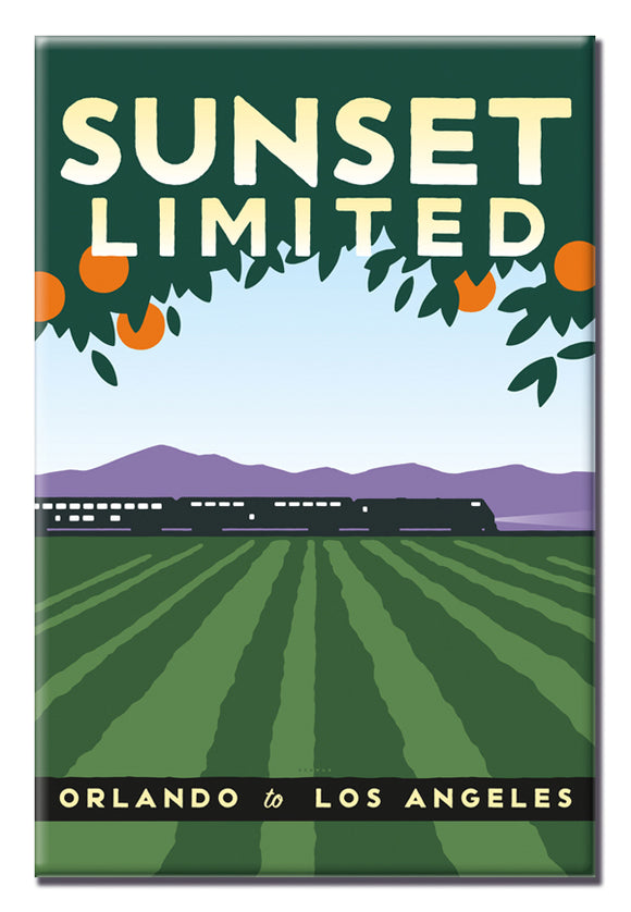 Sunset Limited (Orlando to LA) Magnet