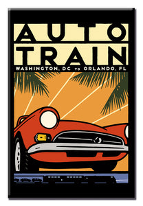 Auto Train (DC to Orlando) Magnet