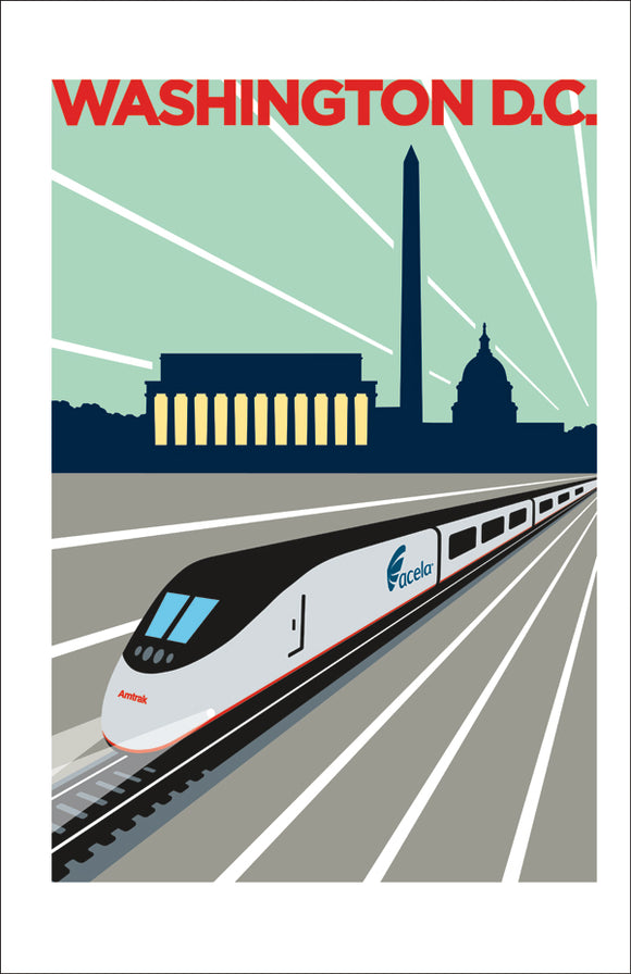 Acela (Washington, DC) Print