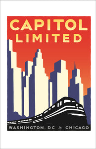 Capitol Limited (Washington DC to Chicago) Print
