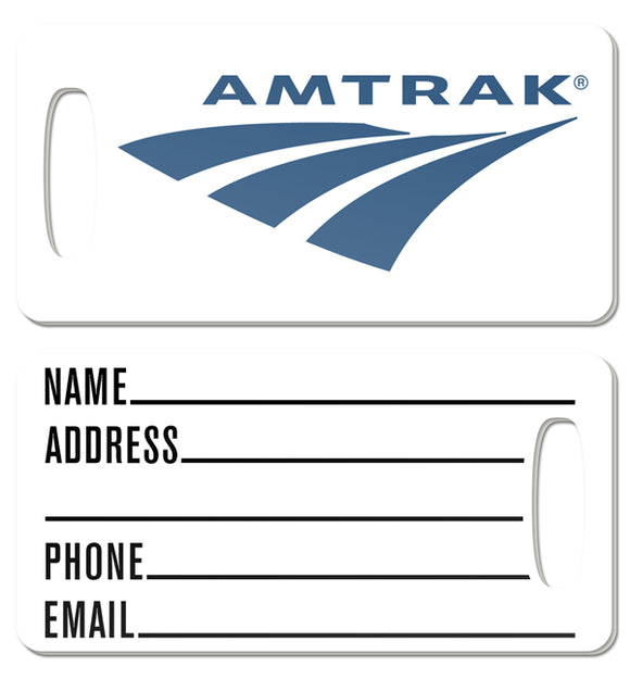 Amtrak Logo Luggage Tag