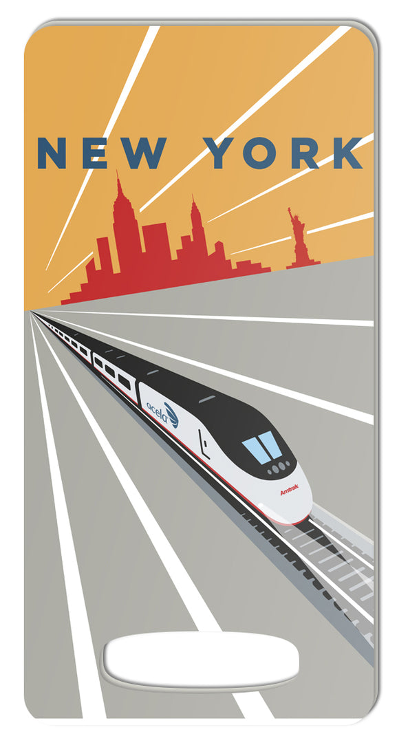 Acela (New York) Luggage Tag
