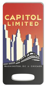 Capitol Limited (DC to Chicago) Luggage Tag