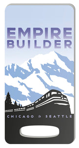 Empire Builder (Chicago to Seattle) Luggage Tag