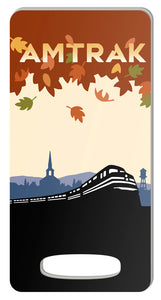 Amtrak (Fall Leaves) Luggage Tag
