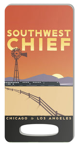 Southwest Chief (Chicago to LA) Luggage Tag