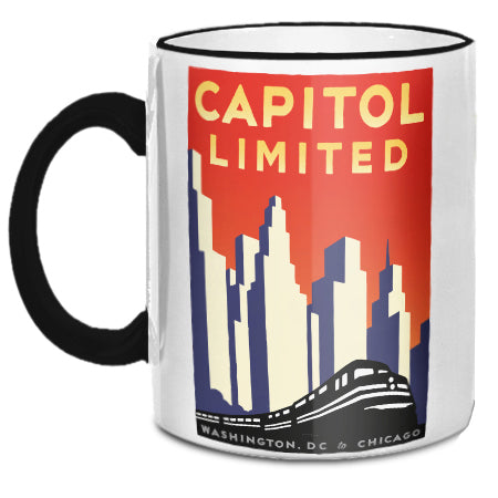 Capitol Limited (DC to Chicago) Mug