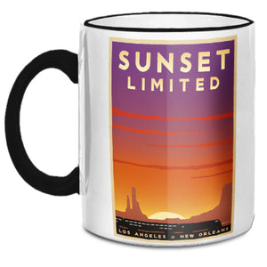 Sunset Limited (LA to New Orleans) Mug