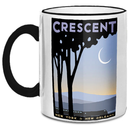 Crescent (NYC to New Orleans) Mug