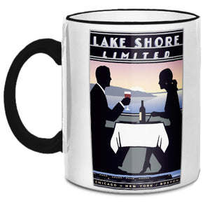 Lake Shore Ltd (Chicago-NY-Boston) Mug