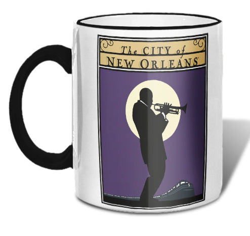 City of New Orleans Mug