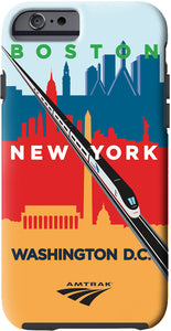 Acela (Boston-New York-DC) iPhone Case
