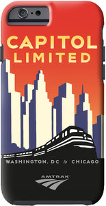 Capitol Limited (DC to Chicago) iPhone Case