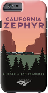 California Zephyr (Chicago to SF) iPhone Case