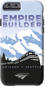 Empire Builder (Chicago to Seattle) iPhone Case
