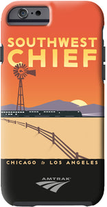 Southwest Chief (Chicago to LA) iPhone Case