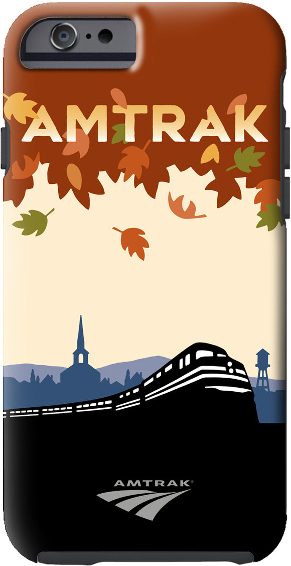 Amtrak (Fall Leaves) iPhone Case