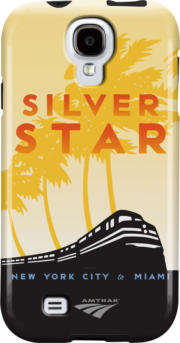 Silver Star (NYC to Miami) Galaxy Case