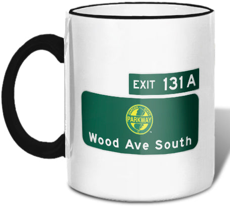 Woods Avenue South (Exit 131A) Mug