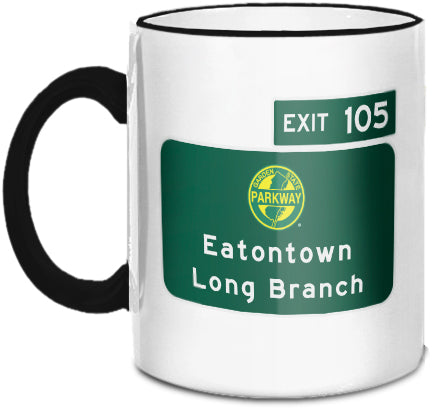 Eatontown / Long Branch (Exit 105) Mug