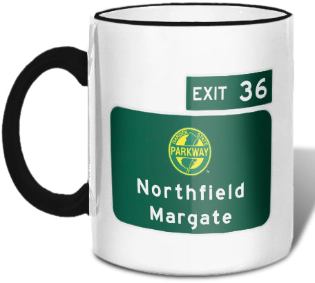 Northfield / Margate (Exit 36) Mug