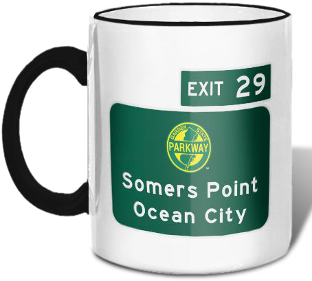 Somers Point / Ocean City (Exit 29) Mug