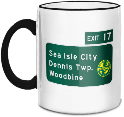 Sea Isle City / Woodbine (Exit 17) Mug