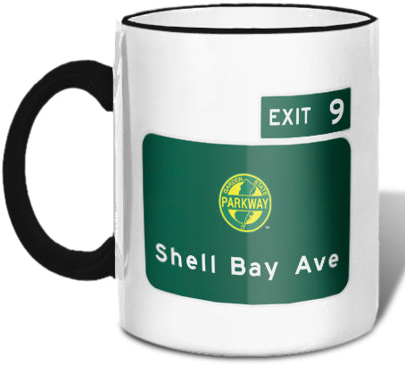 Shell Bay Ave (Exit 9) Mug