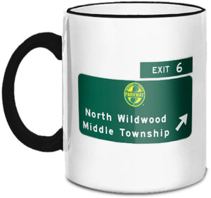 North Wildwood / Middle Township (Exit 6) Mug