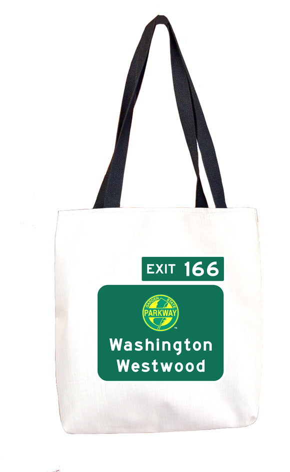 Washington / Westwood (Exit 166) Tote