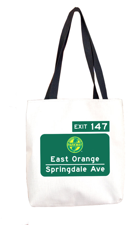 Springfield Ave. / East Orange (Exit 147) Tote