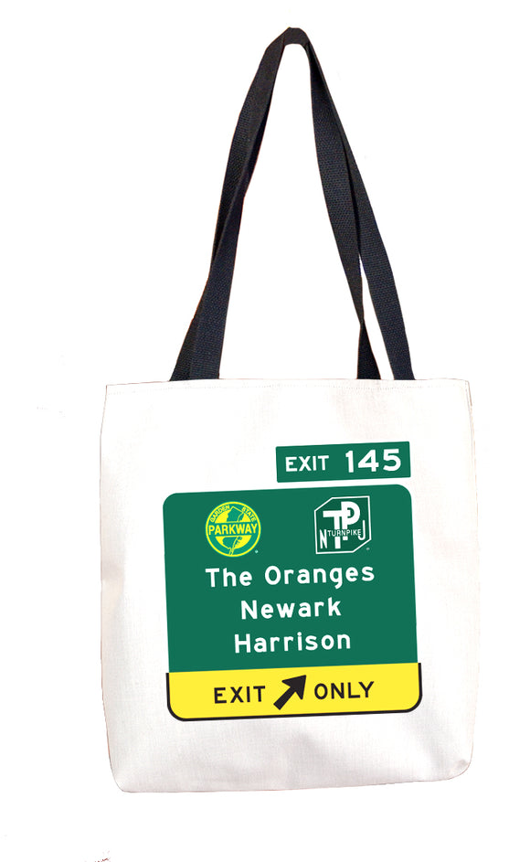 The Oranges / Newark / Harrison (Exit 145) Tote