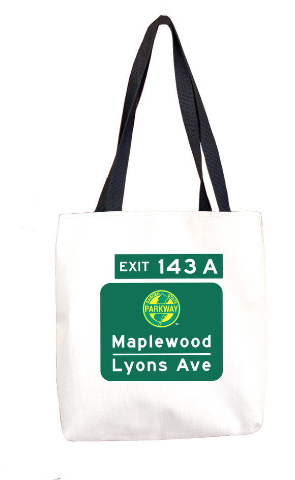 Maplewood / Lyons Ave (Exit 143A) Tote