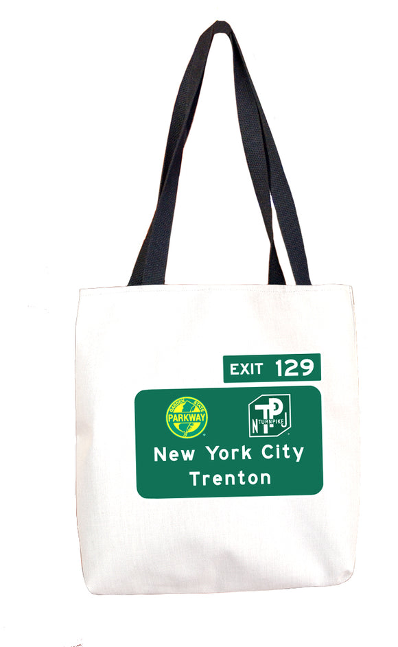 New York City / Trenton (Exit 129) Tote