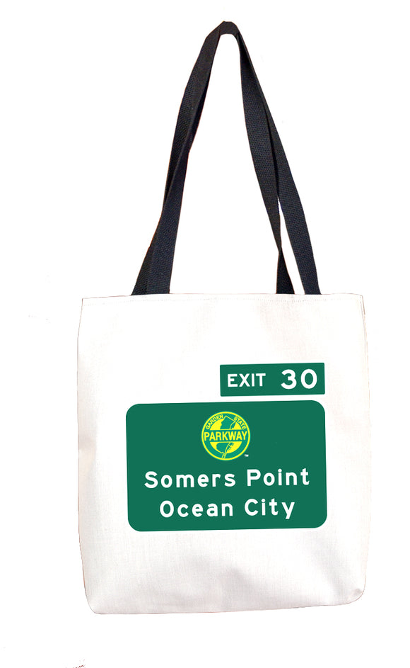 Somers Point / Downtown Ocean City (Exit 30) Tote