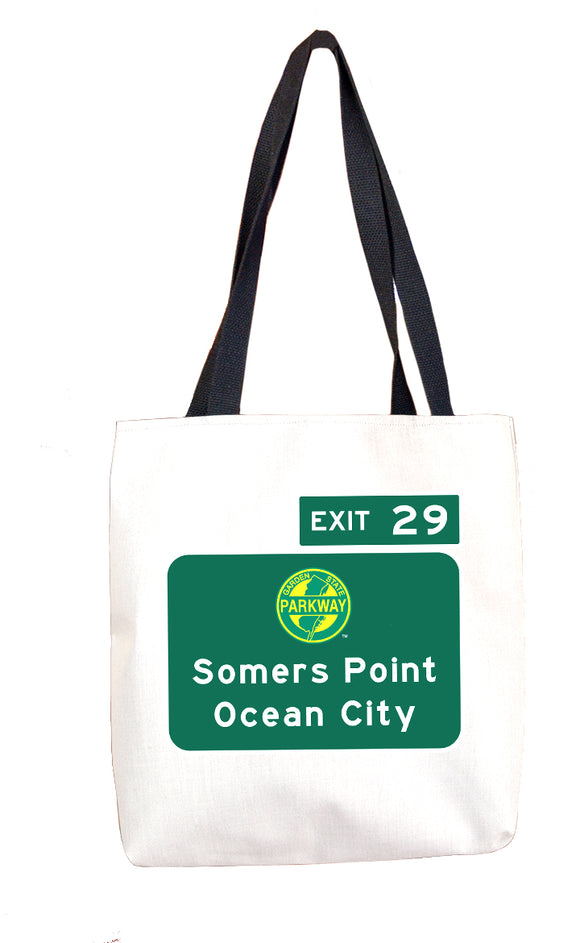 Somers Point / Ocean City (Exit 29) Tote
