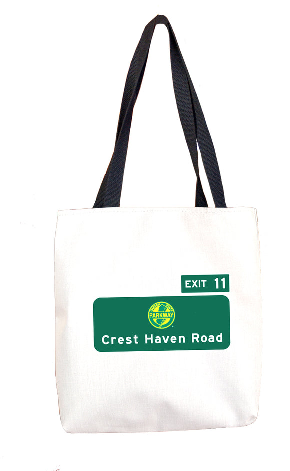 Crest Haven Road (Exit 11) Tote