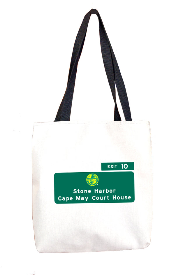 Stone Harbor / Cape May Court House (Exit 10) Tote